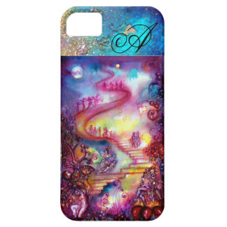 GARDEN OF THE LOST SHADOWS, MYSTIC STAIRS MONOGRAM iPhone 5 COVERS