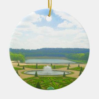 Garden of Versailles Ceramic Ornament