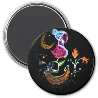 Garden Over the Clouds Magnet