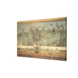 Garden Paintings from the  'Villa of Livia' Canvas Print