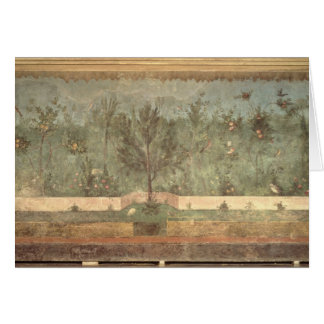 Garden Paintings from the  'Villa of Livia' Card