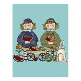 Garden Pals Postcard