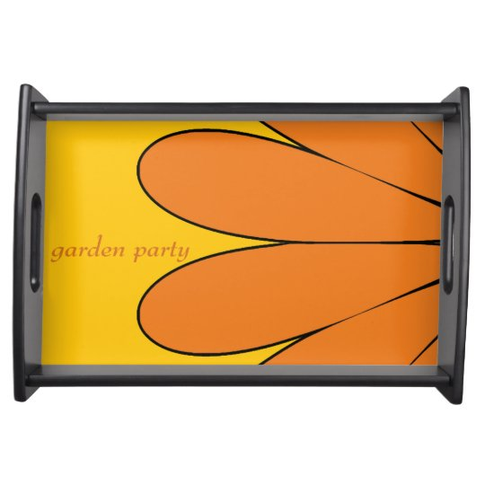 Garden Party Serving Trays