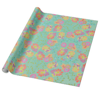 Garden Party Wrapping Paper