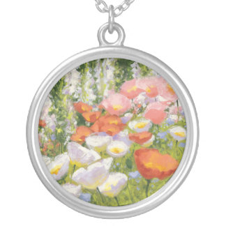 Garden Pastels Silver Plated Necklace