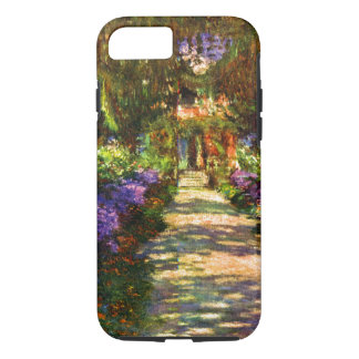 Garden Path by Claude Monet iPhone 7 Case