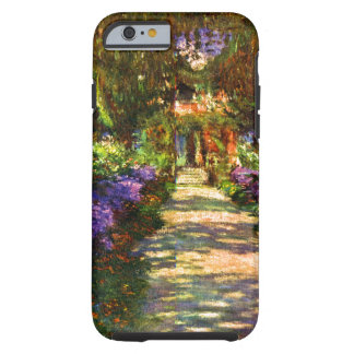 Garden Path by Claude Monet Tough iPhone 6 Case