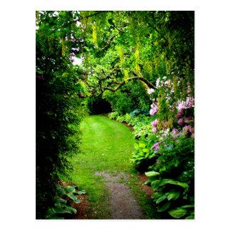 Garden Path Postcard