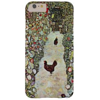 Garden Path w Chickens, Gustav Klimt, Art Nouveau Barely There iPhone 6 Plus Case