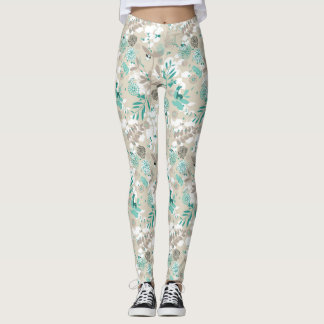 Garden Pattern Leggings