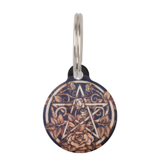 Garden Pentacle Pet Tag - Small
