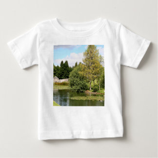 Garden & pond, highlands, Scotland Baby T-Shirt