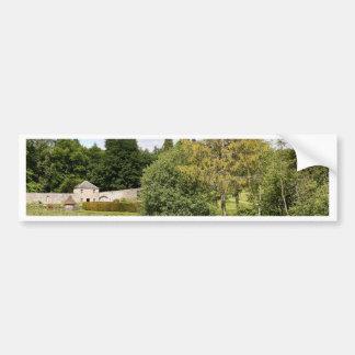 Garden & pond, highlands, Scotland Bumper Sticker