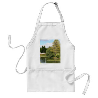 Garden & pond, highlands, Scotland Standard Apron