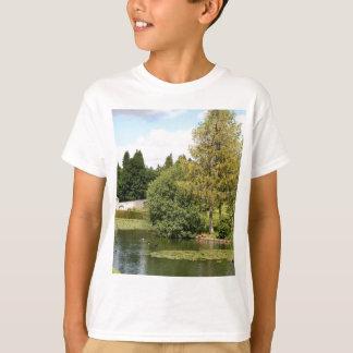 Garden & pond, highlands, Scotland T-Shirt