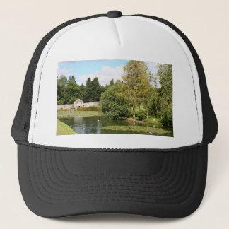Garden & pond, highlands, Scotland Trucker Hat