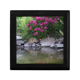 Garden Pond in Okanagan area, BC, Canada Gift Box