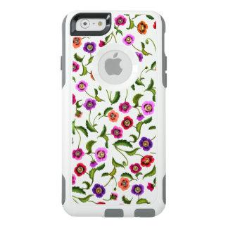 Garden Poppy Flowers Otterbox iPhone Case