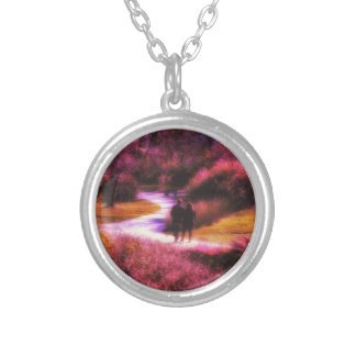 Garden Romance Silver Plated Necklace