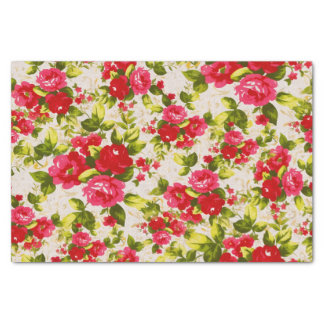 Garden Rose Tissue Paper Sheets