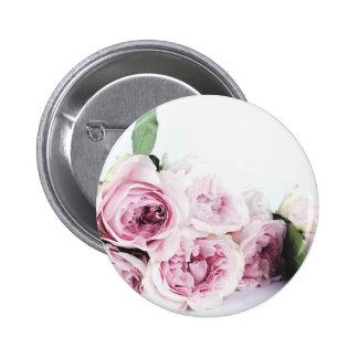 Garden roses 2 inch round button