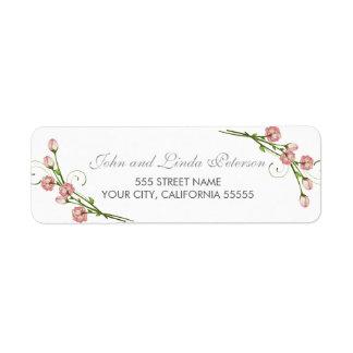 Garden Roses Return Address Labels