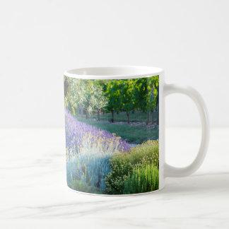 Garden scenic with flowers, France Coffee Mug