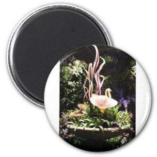 Garden Sculpture 2 Inch Round Magnet