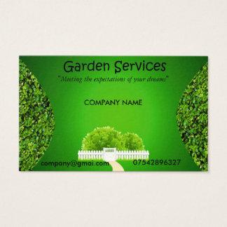 Garden Service Business card