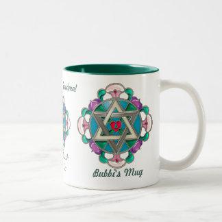 Garden Star (Personalized Mug) Two-Tone Coffee Mug