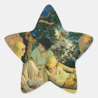 Garden Star Sticker