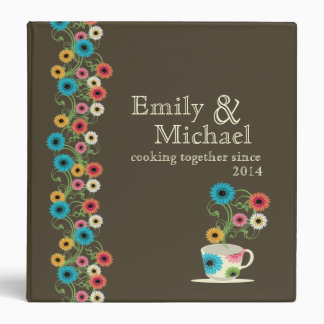 Garden Tea Party Recipe Collection Binder