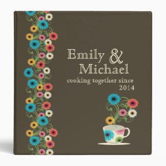 Garden Tea Party Recipe Collection 3 Ring Binders