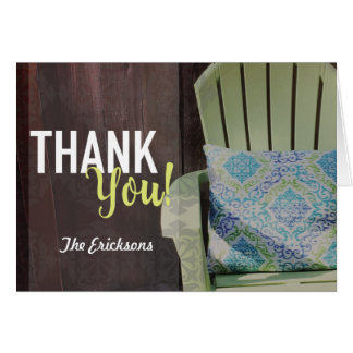 Garden Thank You Notecard