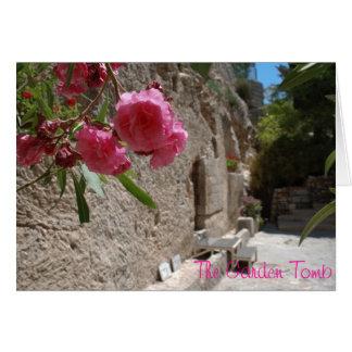 Garden Tomb Jeruselum Isreal Greeting Card