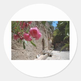 Garden Tomb Jeruselum Isreal Round Sticker