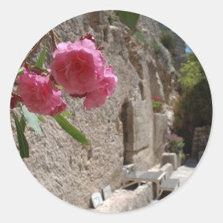 Garden Tomb Jeruselum Isreal Round Stickers