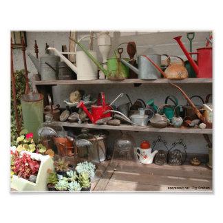 Garden Tools Photo Print