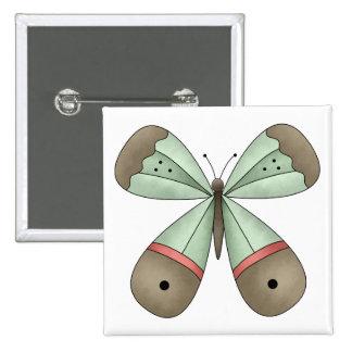 Garden Treasures · Butterfly Button