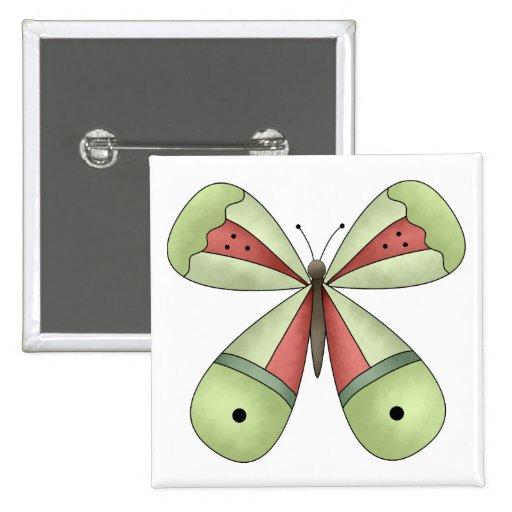 Garden Treasures · Butterfly Pinback Button