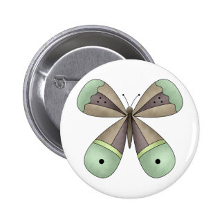 Garden Treasures · Butterfly Pinback Buttons