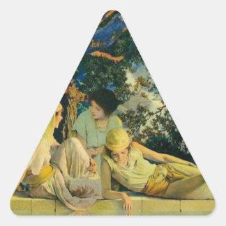 Garden Triangle Sticker