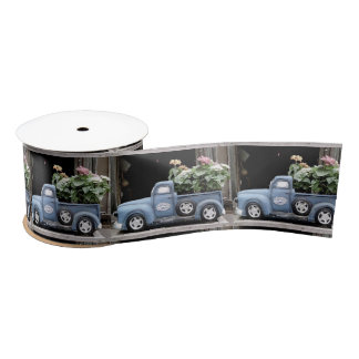 Garden Truck Satin Ribbon
