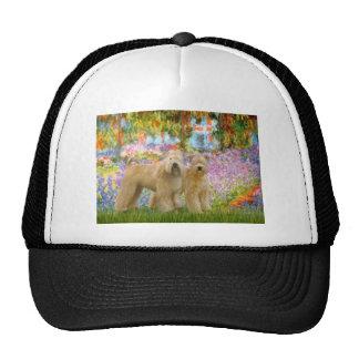 Garden - Two Wheaten Terriers Trucker Hat