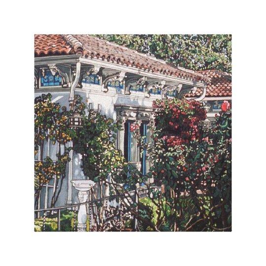 Garden View #2 Canvas Print