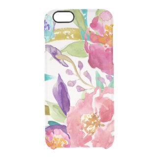 Garden Watercolor Clear iPhone 6/6S Case
