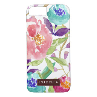 Garden Watercolor Floral iPhone 8/7 Case