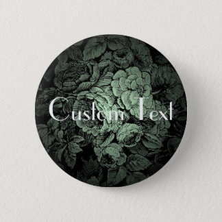Garden Wedding Button: Custom 2 Inch Round Button