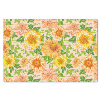 Garden Wedding themed Tissue Paper