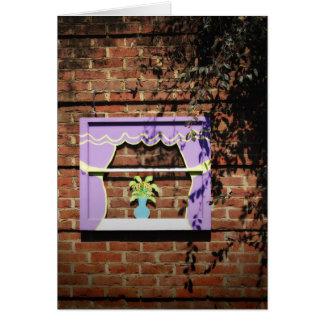 Garden Window Card